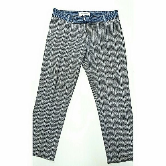 Balenciaga pin striped denim pants These have such amazing detail, and are perfect for spring! Balenciaga Jeans Ankle & Cropped