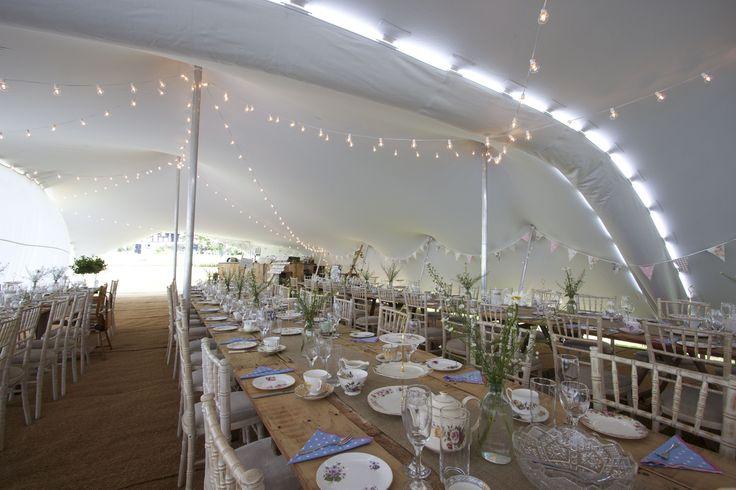 Beautiful, simple yet elegant wedding that lets the tent do the talking! Make your #stretchtent your #weddingtalkingpoint. #stretchtent #alternativemarquee #event #weddingvenue #eleganttent #moderntent #modernmarquee #Freestretch #weddingdecor