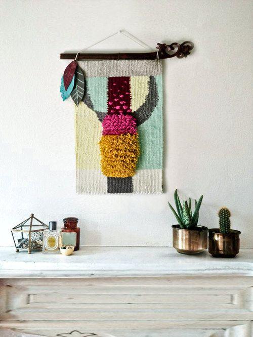 Gobelenchik, fiber arts, weaving, textiles, wall hangings