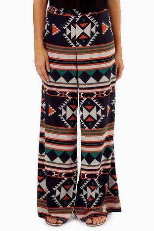 Ample Aztec Pants $52 at www.tobi.com