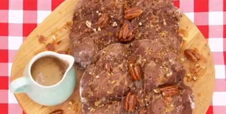 Ugne: Pane veloce al cioccolato con salsa di caramello salato (III puntata) - Le ricette tradotte di Bake Off UK