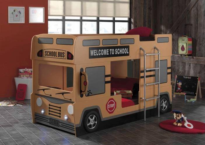 Litera infantil bus school -Merkamueble-