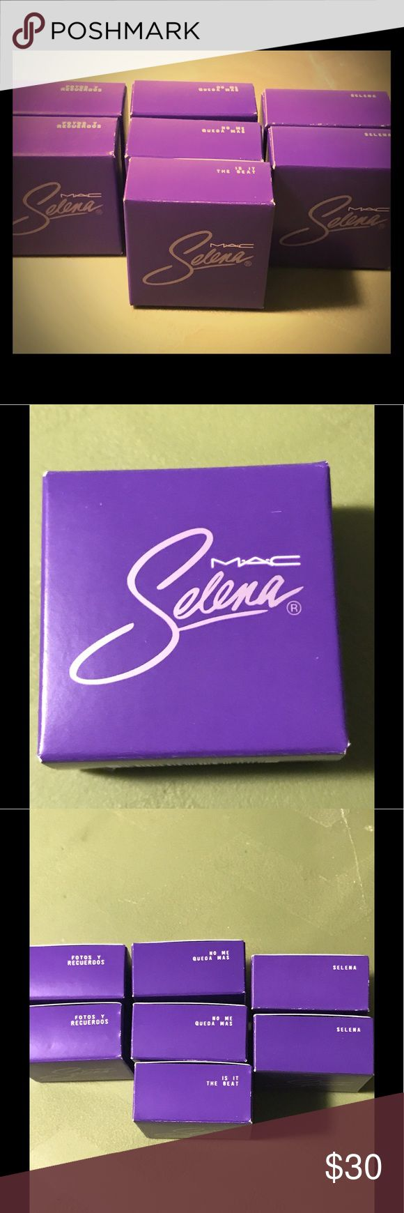 Limited Edition Selena Mac Collection Eyeshadows Eyeshadows from the Selena Mac Collection. Brand new from original launch. MAC Cosmetics Makeup Eyeshadow