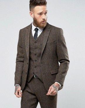Men's Tweed Suits | Blazers, Jackets, Waistcoats, & Trousers | ASOS