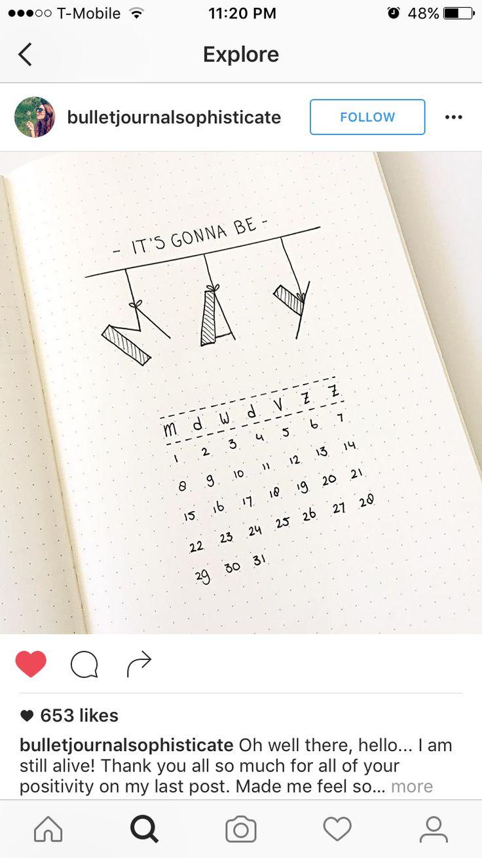 ♥Мини календарь♥