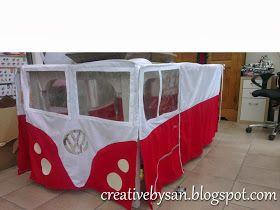 Creative by San: Tafeltent VW Busje