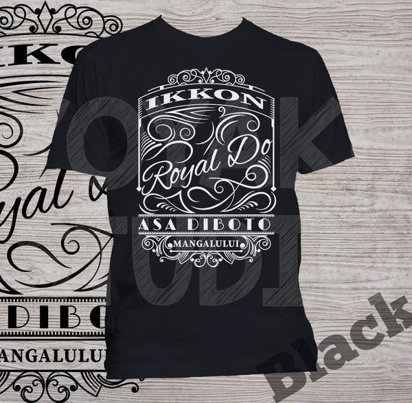 "Kaos Batak ""Ikkon Royal Do"" (versi kaos gelap)  Via Bukalapak, klik gambar untuk order/warna lainnya"