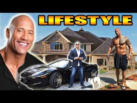 Jumanji cast Dwayne Johnson The Rock Lifestyle, height, age, kids, wife,...