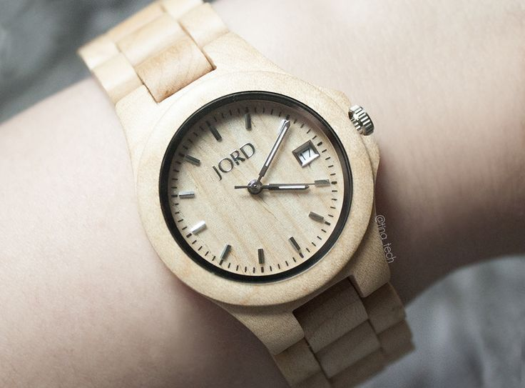 Wood Watch from JORD - ELY series Maple