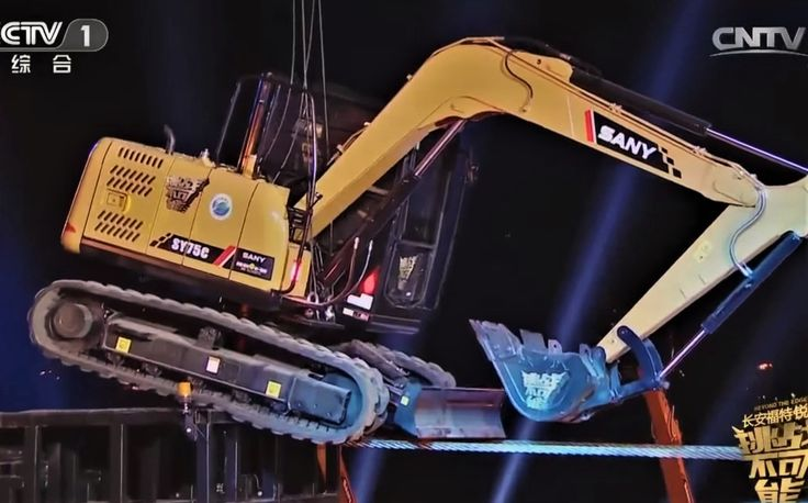 VIDEO of the Week Excavator walks a tightrope #construction - dragline operator sample resume