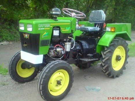 Mini Tractor manufactured by quality manufacturers having long experienced about tractors.