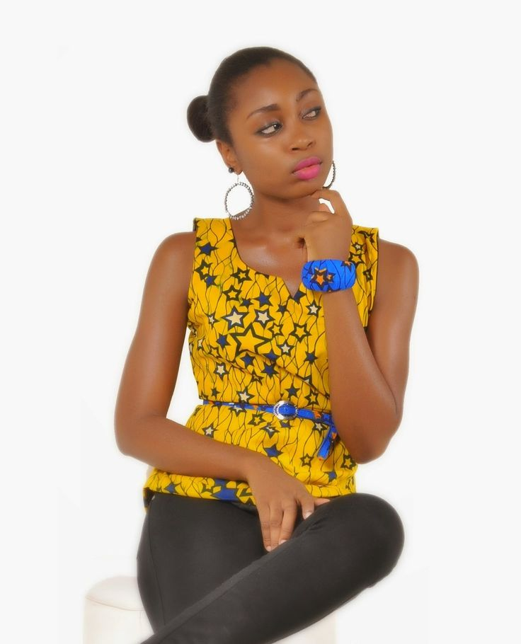 Nigerian Ankara Styles - Beautiful Top - DeZango Fashion Zone