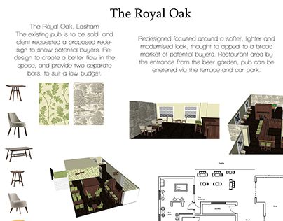 "Check out new work on my @Behance portfolio: ""Royal Oak, Lasham"" http://on.be.net/1SBCc0O"