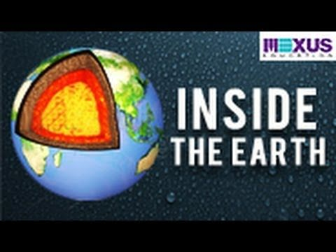 Learn about Inner layers of the earth's crust and how the earth looks like!