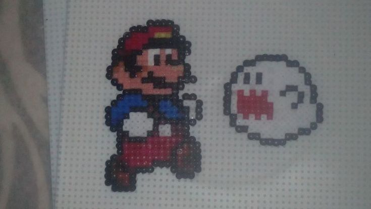 HAMA - mario and boo by karmatrix on DeviantArt
