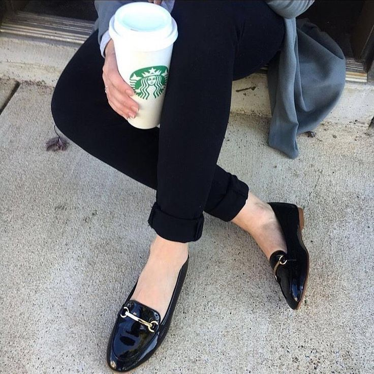 Patent Leather Leo Loafers from Restricted Shoes c/o @shoppursona