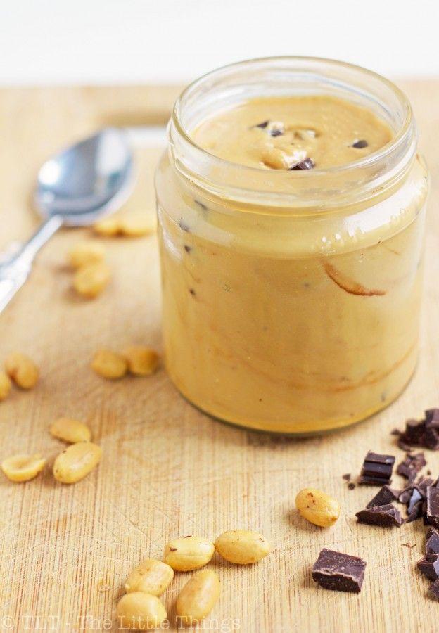 burro di arachidi con cioccolato