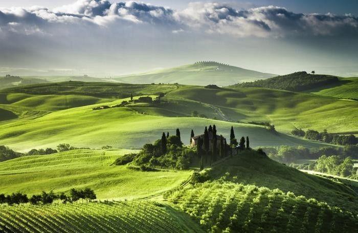 La campagna mette sonno - Toscana