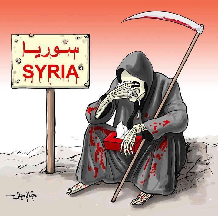 Afbeeldingsresultaat voor syria bleeding flag