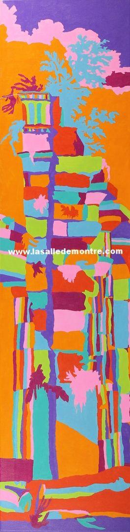 Sarah Grignon-Moquin, artiste LSDM Colonne 12x48   // 350 $  http://lasalledemontre.com/sarah-grignon-moquin/colonne