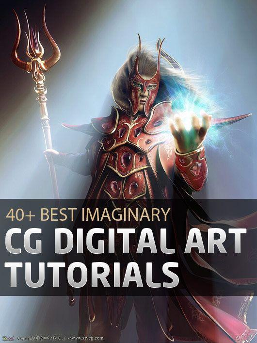40+ Best Imaginary CG Digital Art Tutorials: Art Gamedesign Help, 40 Digital, Art Inspiration, 3Ds Max Tutorials, Art Design, Digital Art Tutorials, Art Resources, Art Graph, Animal