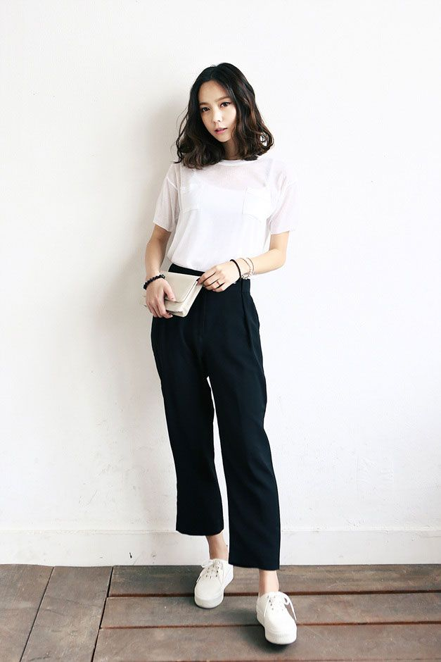 lovely kpop outfit pants 2016