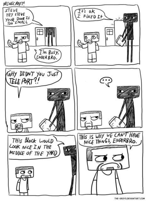 #minecraft so funny!