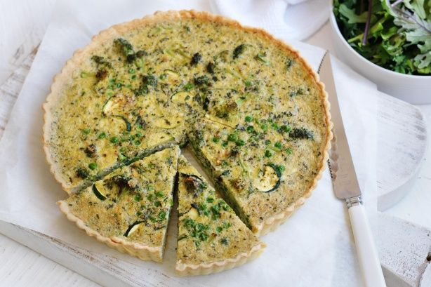 Get all your daily greens in this delicious quiche. Proudly brought to you by Campbell's Real Stock and Taste.com.au.
