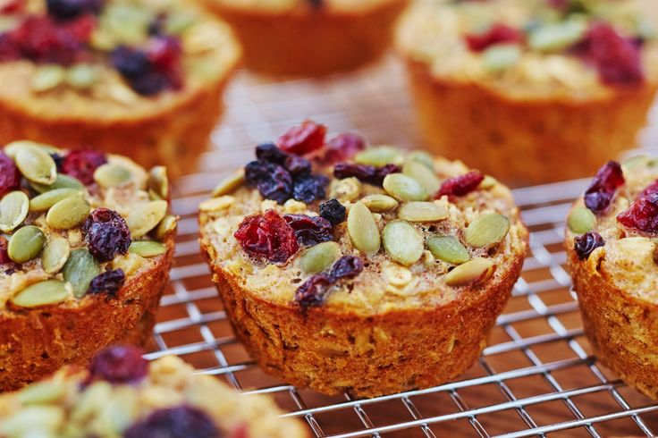 20 Quick and Easy Vegetarian Breakfasts | How To Make Tender Baked Oatmeal Cups