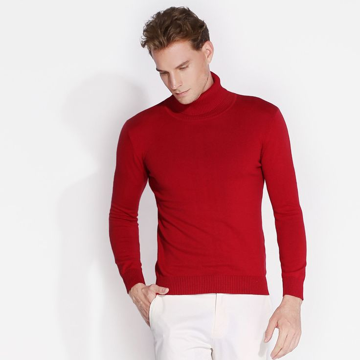 Uwback 2017 New Brand Men Wool Sweater Autumn Winter O-neck Thick Knitwear Pullover Christmas Mens Sweaters High Quality CAA243