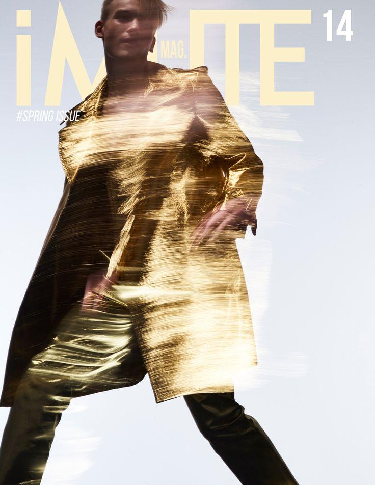 MIDAS TOUCH – COVER STORY SPRING ISSUE #14 Photographer / M Domkus Model / Sergei Starenkov @ Next Models London Designer & Stylist / Nuno Lopes De Oliveira Grooming / Yun Jin Kim Studio / Spring Studios London