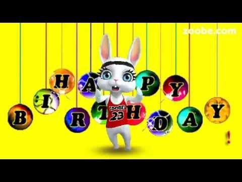 ВКУСНОЙ жизни! С днём рождения! Zoobe поздравления, пожелания.