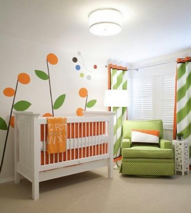 129 best Nursery Design: GREEN images on Pinterest | Nursery decor ...