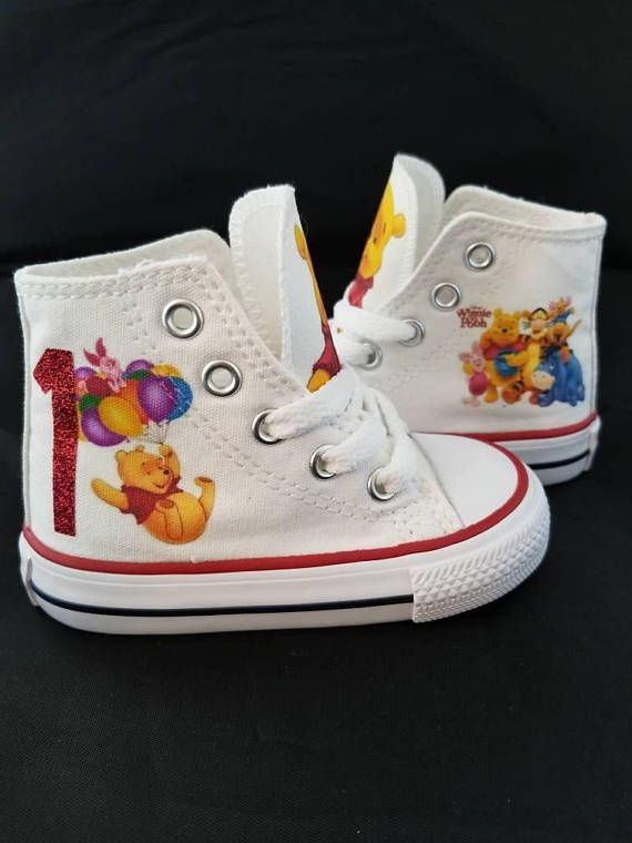 2dff07aeef30 Winnie the pooh 1st birthday party shoes pooh bear shoes