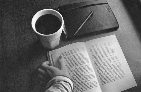 Guten Morgen. Kaffee und Buch!Bible And Coffe, Journals, Life, Favorite Things, Cups Of Coffe, Breakfast, Teas, Mornings Coffe, Reading Notebooks