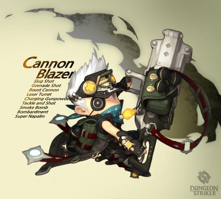 Dungeon Striker - Cannon Blazer male / from Dungeon Striker fansite kit