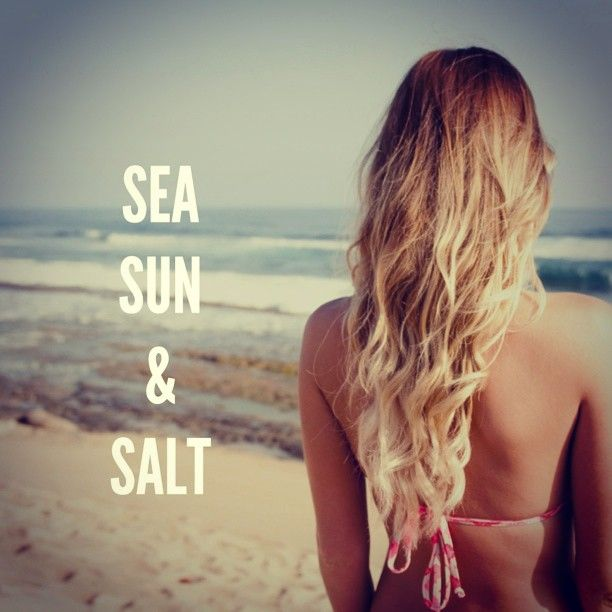 sea - sun - salt: Hair