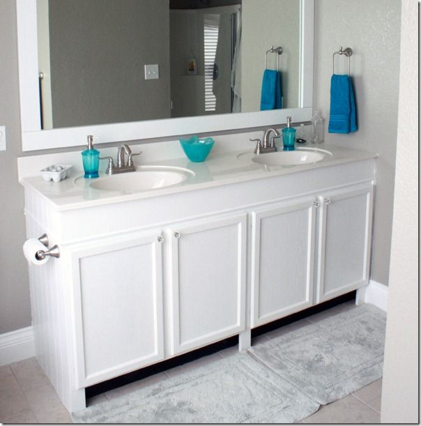 How To Add Height To A Short Bathroom Vanity 51