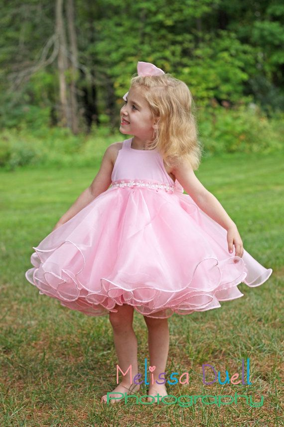 Natural pageant beauty dress by LaurynandLuca on Etsy