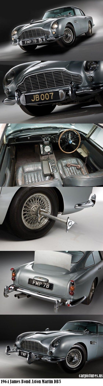 1964 James Bond Aston Martin DB5  #RePin by AT Social Media Marketing - Pinterest Marketing Specialists ATSocialMedia.co.uk