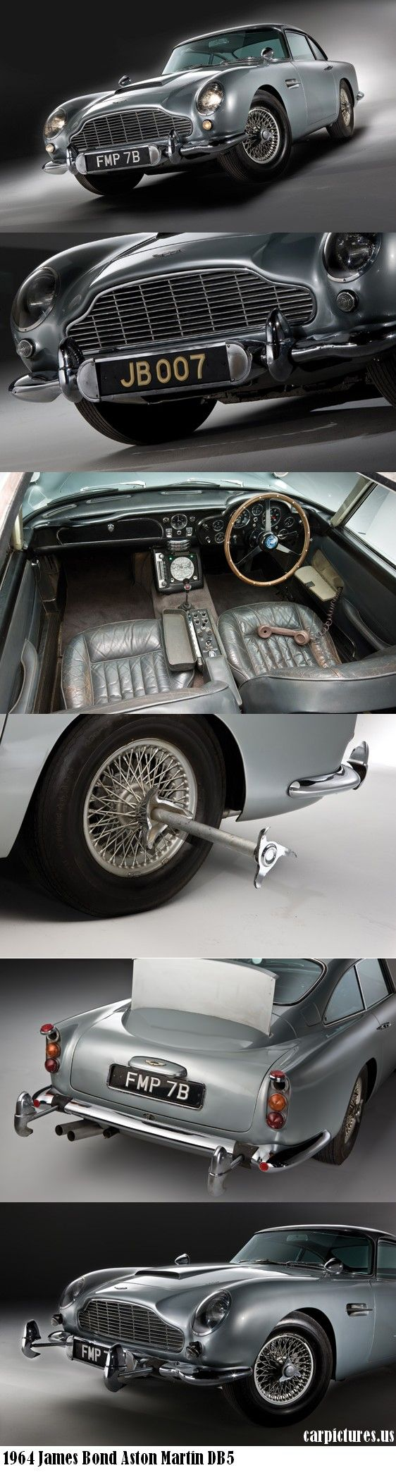 1964 James Bond Aston Martin DB5...Anytime someone wants to get me one of these, I AM GAME!!! | Drive a Aston @ http://www.globalracingschools.com
