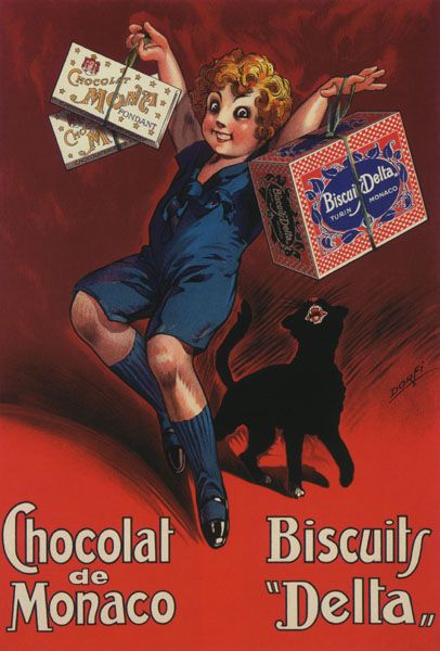Vintage advertising poster (1930)