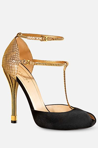 Gucci shoes to die for - Tstrap #DecoDetails #Gatsby #Trend