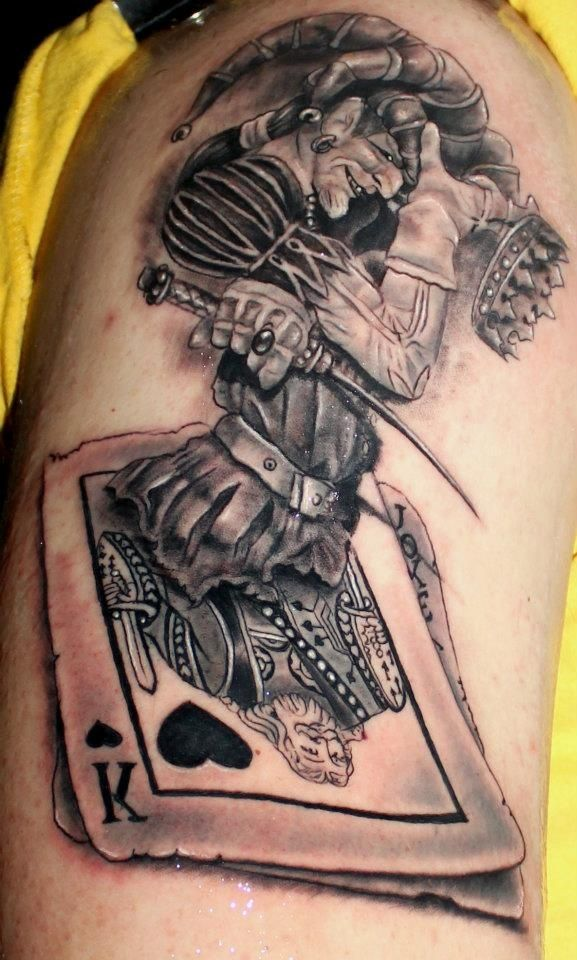 38 best 3d deck of cards tattoos images on pinterest playing cards tattoo ideas and game cards. Black Bedroom Furniture Sets. Home Design Ideas