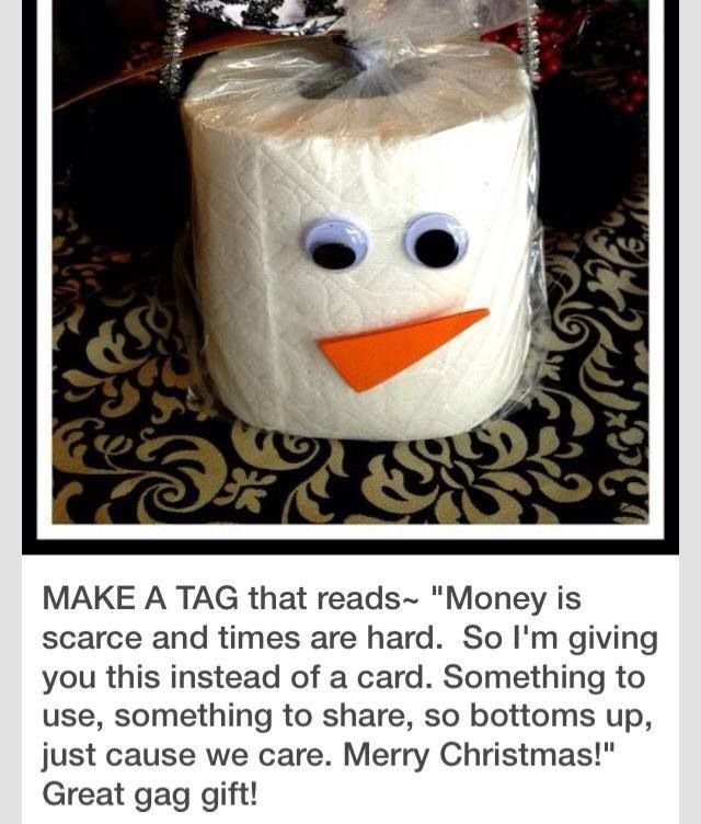 Great Diy Christmas Gift: Great Gag Gift!!! I Can Think Of A Few Who Might Need This