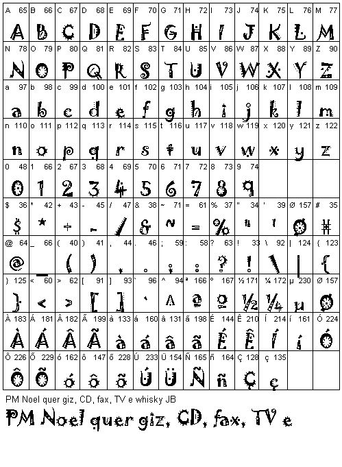 Jokerman Bold letters and numbers