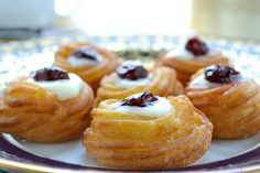 ZEPPOLE- Italian Fried Cookies. So this is what Marie made for the guys on Everybody Loves Raymond.  I remember that's the episode where Frank loses his taste, so they load his with super hot stuff...