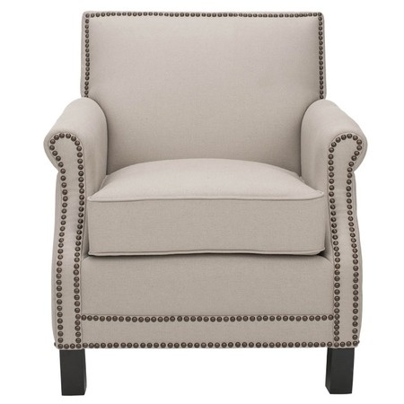I pinned this Evan Club Chair in Beige from the Wine Cellar event at Joss and Main!
