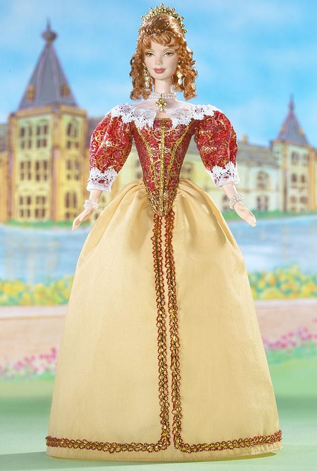 2005 Princess of Holland™ Barbie® | Barbie Dolls of the World - The Princess Collection *DOLLS OF THE WORLD