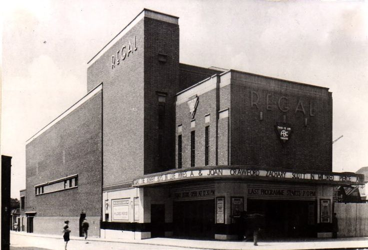 The Regal Cinema Camberwell, affectionately known as The Bug Hole, where I attended Saturday Morning Pictures.